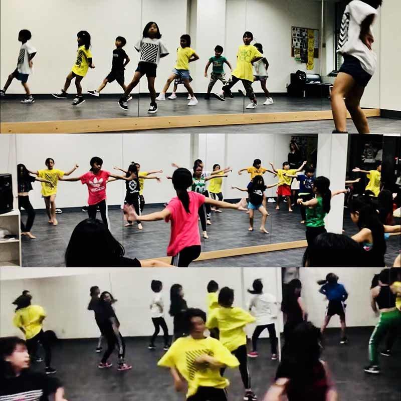 鹿児島のダンススタジオ キッズダンス